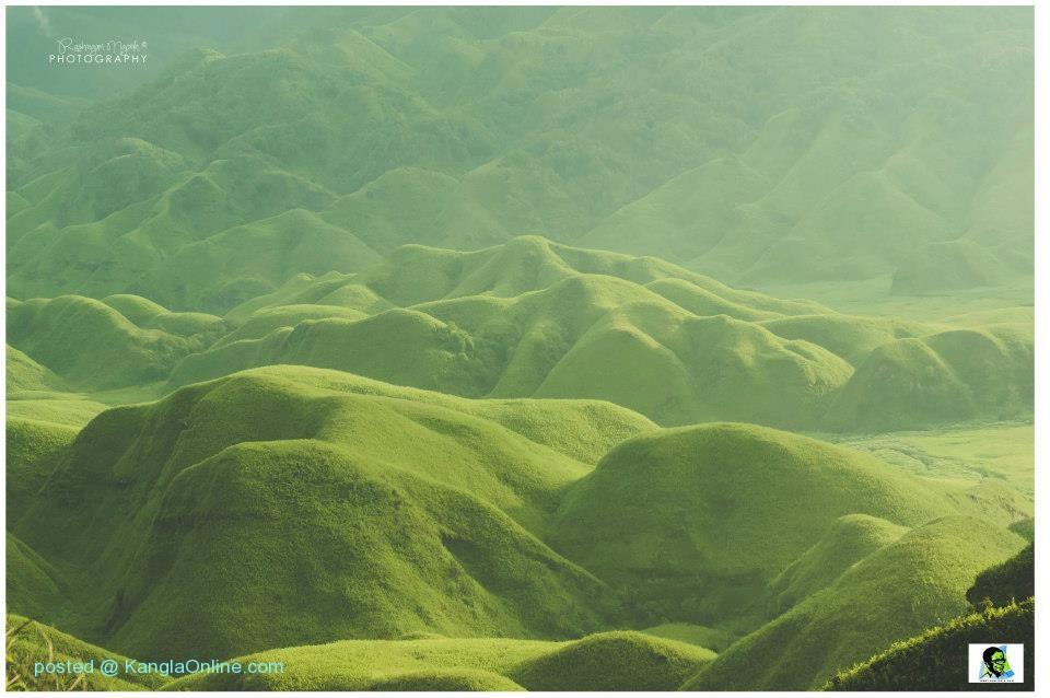 Lush Evergreen Hillocks of Dzuko Valley