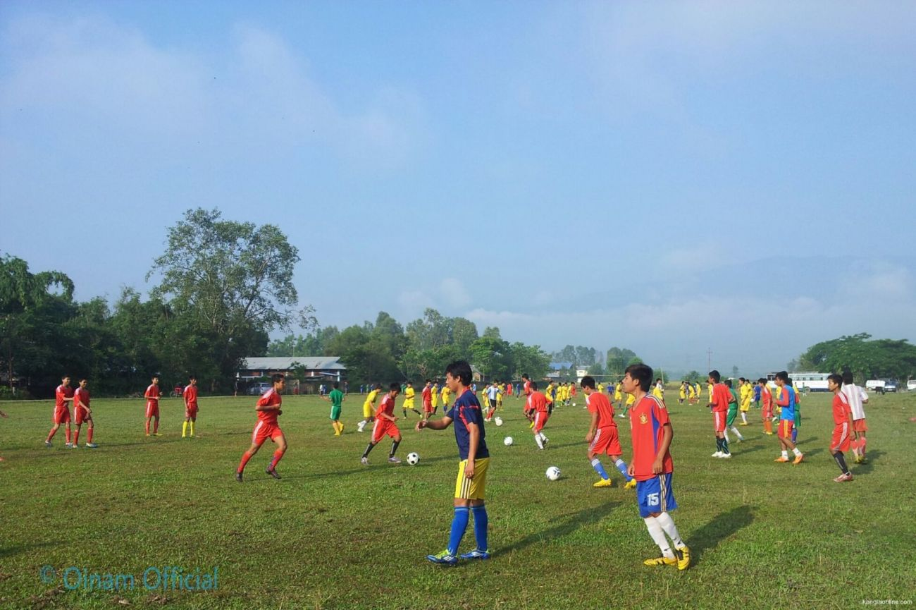 Oinam Sports Association - Football Coaching and Fitness Program 2013