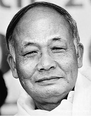 Okram Ibobi,CM OF Manipur. Photo Courtesy: The Hindu
