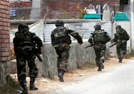 Army within AFSPA free areas