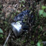 IED bomb was implanted in a pressure cooker to ambush the Indian Army by militants at Paraolon, Chandel District, Manipur. Photo by Deepak Shijagurumayum.