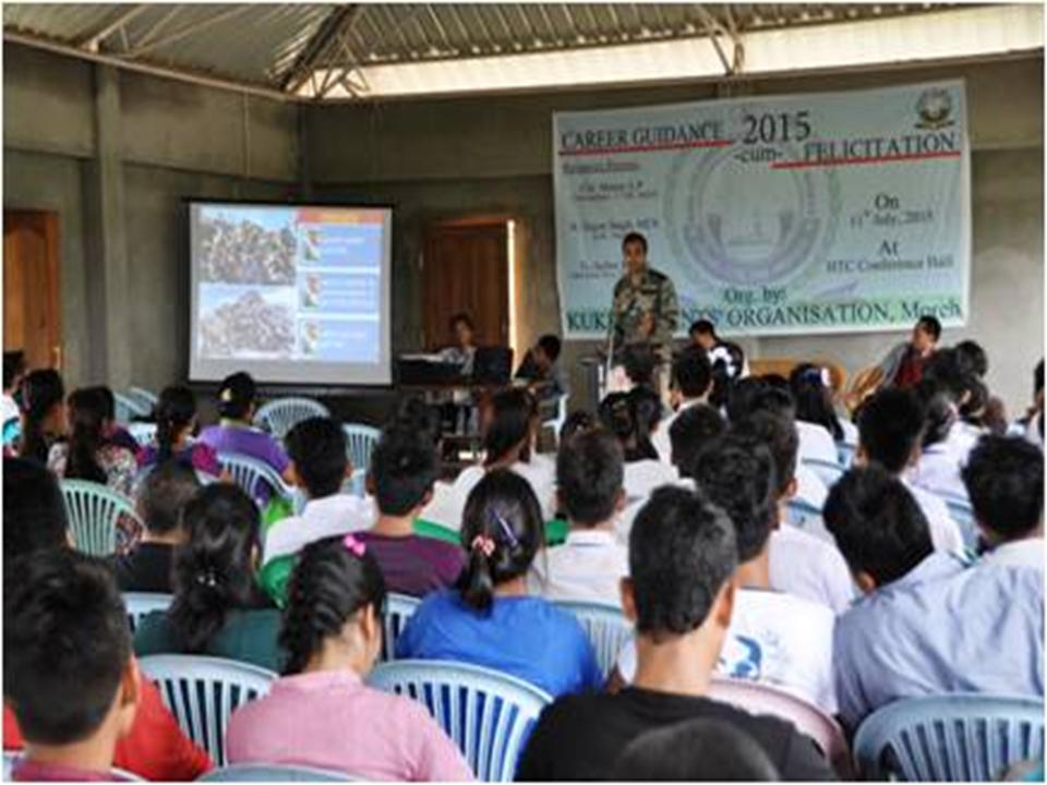 Assam rifles conduct career guidance cum facilitation program