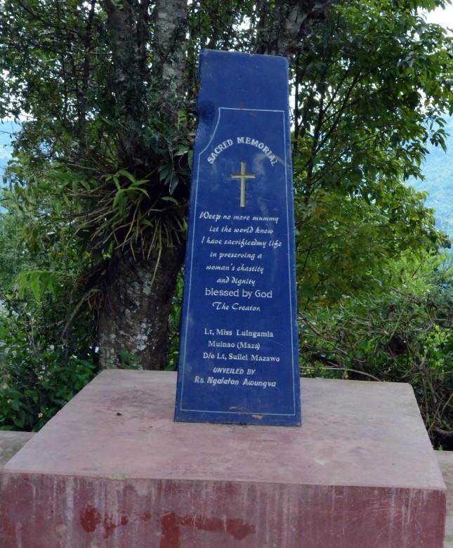 ngainga memorial Luingamla
