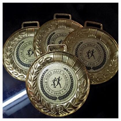 Official T-Shirts and Medals Sardar Hills Half Marathon