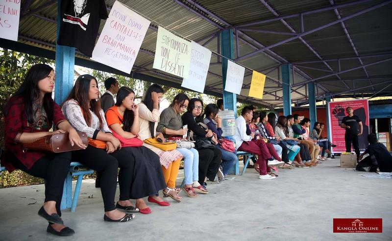 MU  Manipur University Free Speech