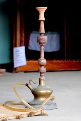 Hidakfu - a kind of traditional Hookah used by Meetei / Meitei Elders