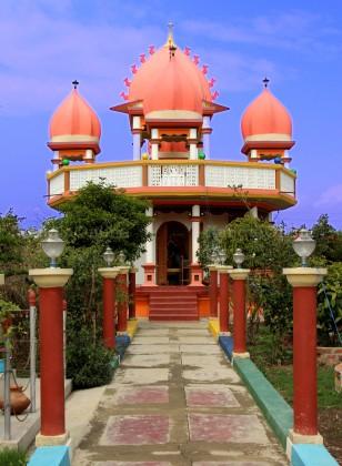 Hindu Temple inside MMRC Park