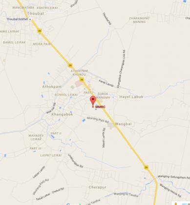 MMRC Park Khangabok In Goolge Map