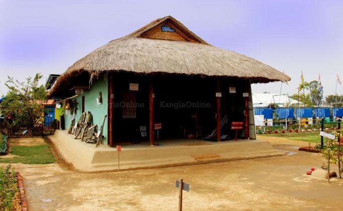 Traditional Meetei / Meitei Yumjao at MMRC Park Khangabok - Daytime View