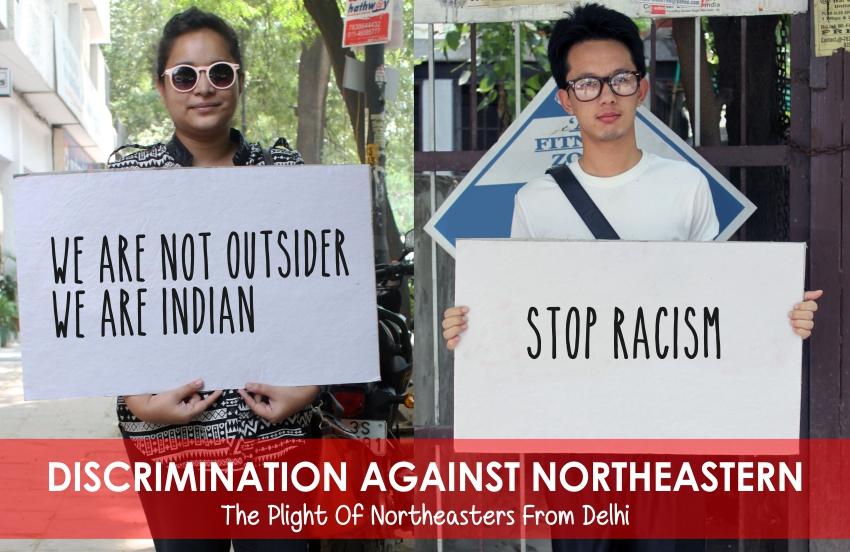 India discrimination against Northeast region