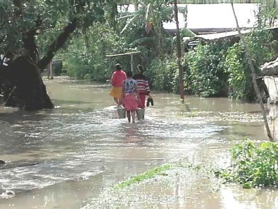 bishnupur flood