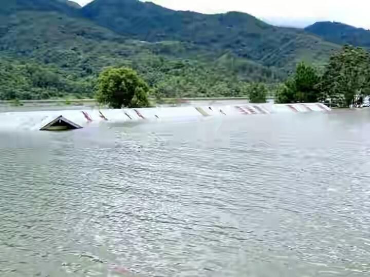 Submerged by Mapithel Dam