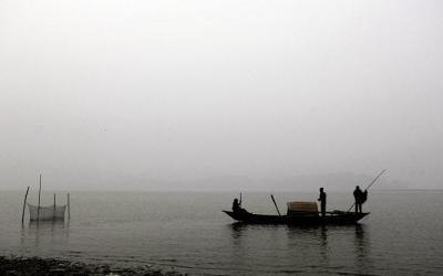 The strategic Dhola-Sadiya bridge on Brahmaputra will be crucial for defence purposes also. (AP photo)