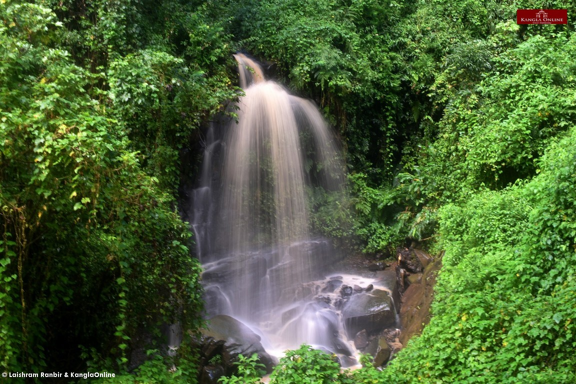Waterfall near Phuba village