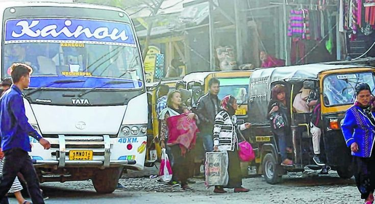 passengers-hit-hard-as-bus-service-along-nh-2-remain-suspended
