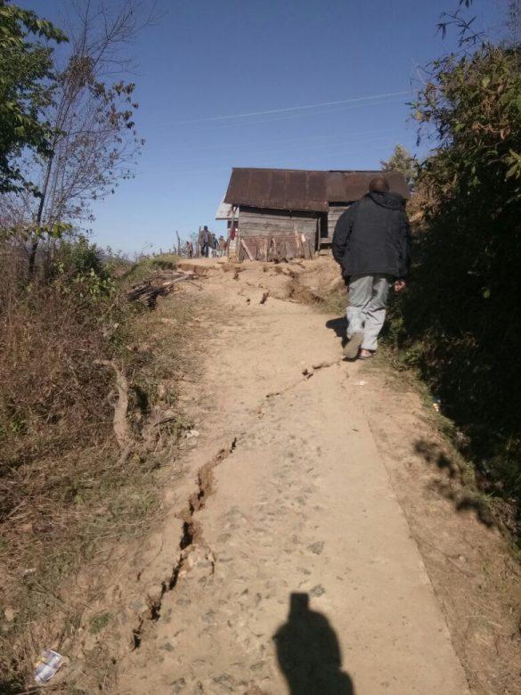 earthquake in manipur