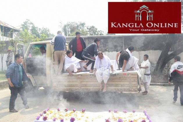 Khelen Thokchom funeral