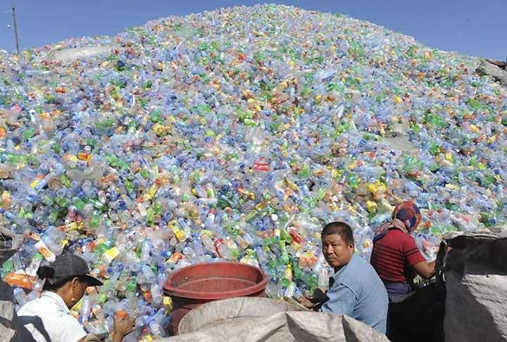 Recycle Plastic electronic waste